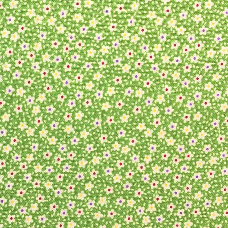 Green #1 - Cotton Calico