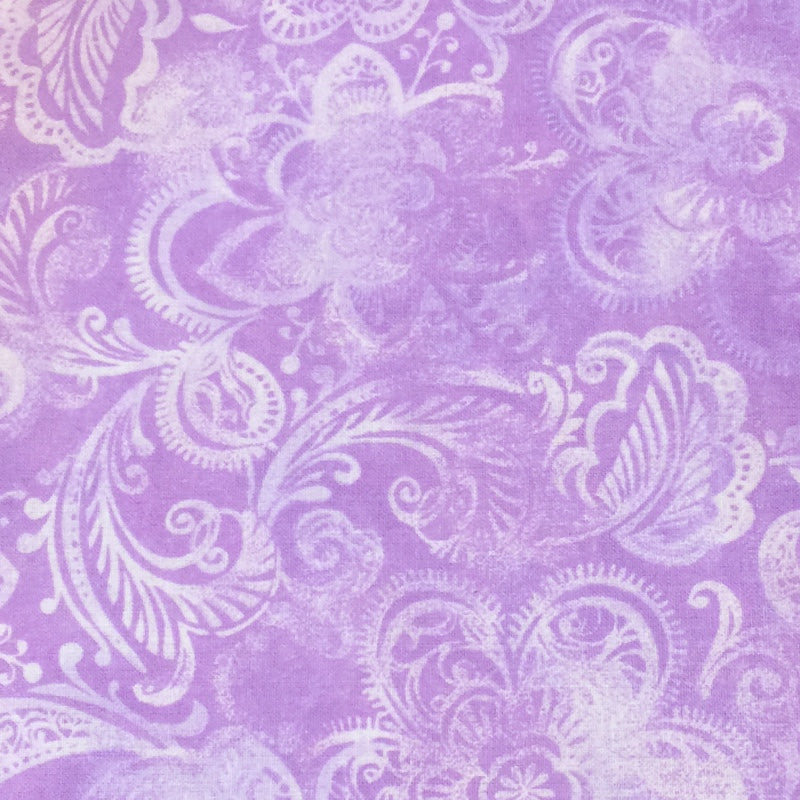 Lavender #3 - Cotton Calico