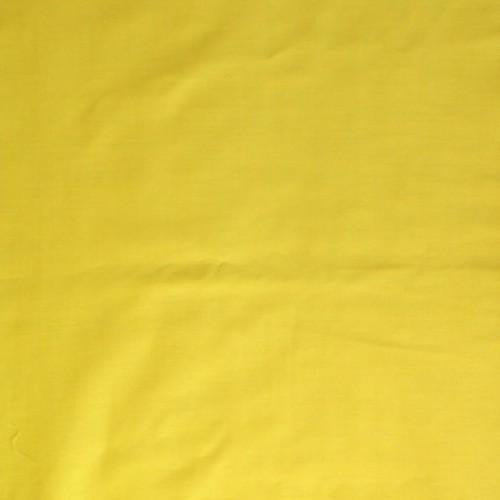 Lemon Yellow - Cotton/Polyester Broadcloth