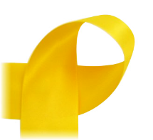 "Lemon Yellow - 3/8"" Ribbon"