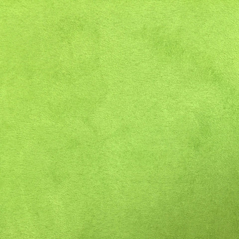 Lime Green - Suede Cloth