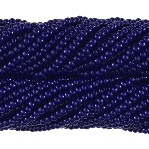 Navy Blue Opaque - Size 10 Seed Beads