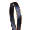 "Navy Blue/Gold - 3/8"" Metallic Ribbon"