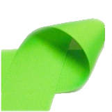 "Neon Green - 3/8"" Neon Ribbon"