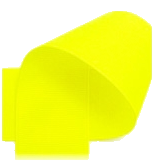 "Neon Yellow - 3/8"" Neon Ribbon"