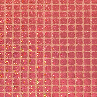 Pink - Sparkle Hologram Square