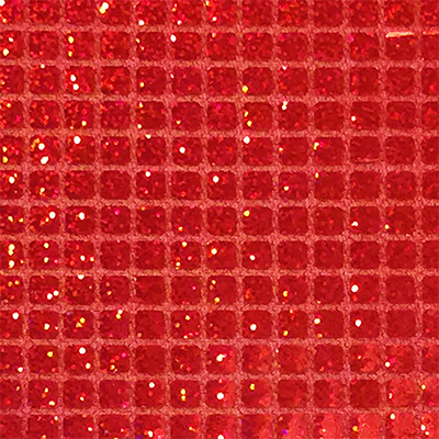 Red - Sparkle Hologram Square