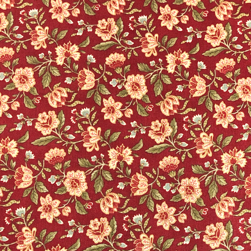 Old Style Red #2 - Cotton Calico