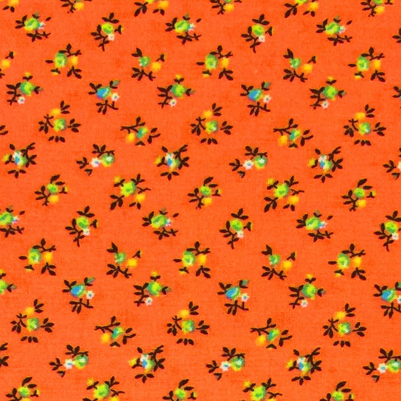 Orange #1 - Cotton Calico