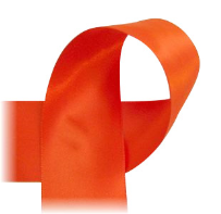"Orange - 7/8"" Ribbon"