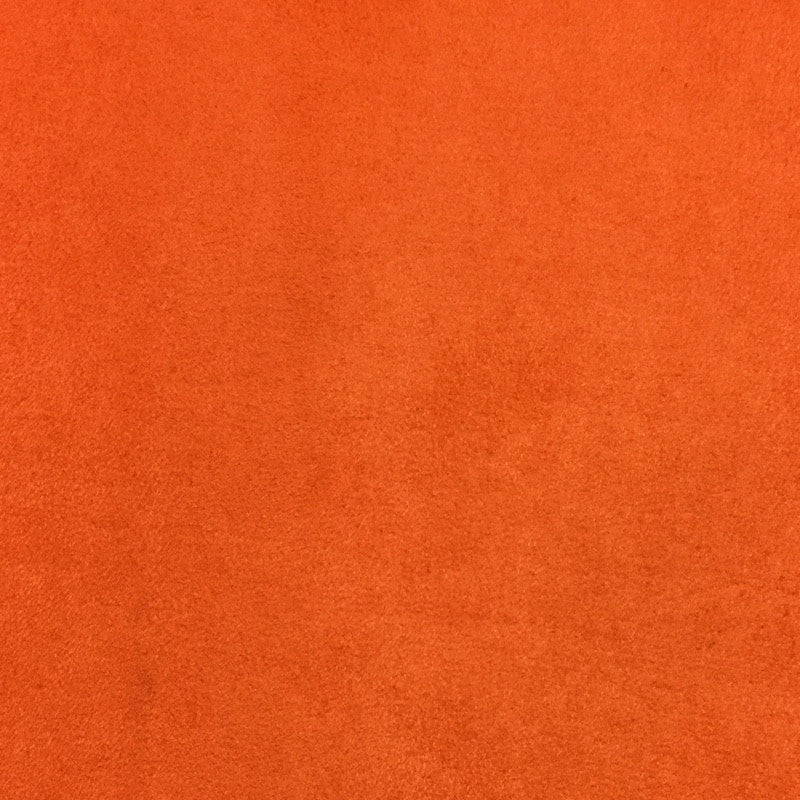 Orange - Suede Cloth