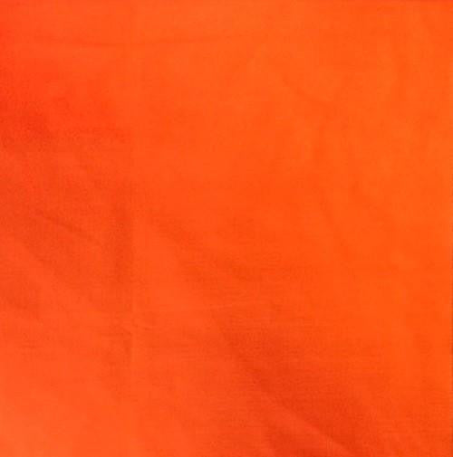Orange - Cotton/Polyester Broadcloth