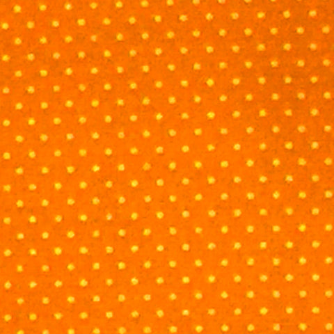 Orange - Cotton Pin Dot