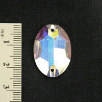 24 x 17mm - Oval AB