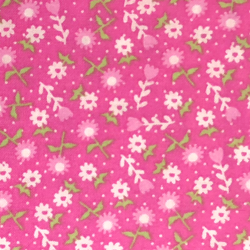 Pink #7 - Cotton Calico