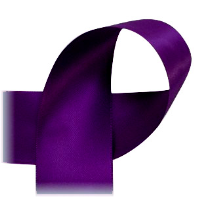 "Plum - 7/8"" Ribbon"