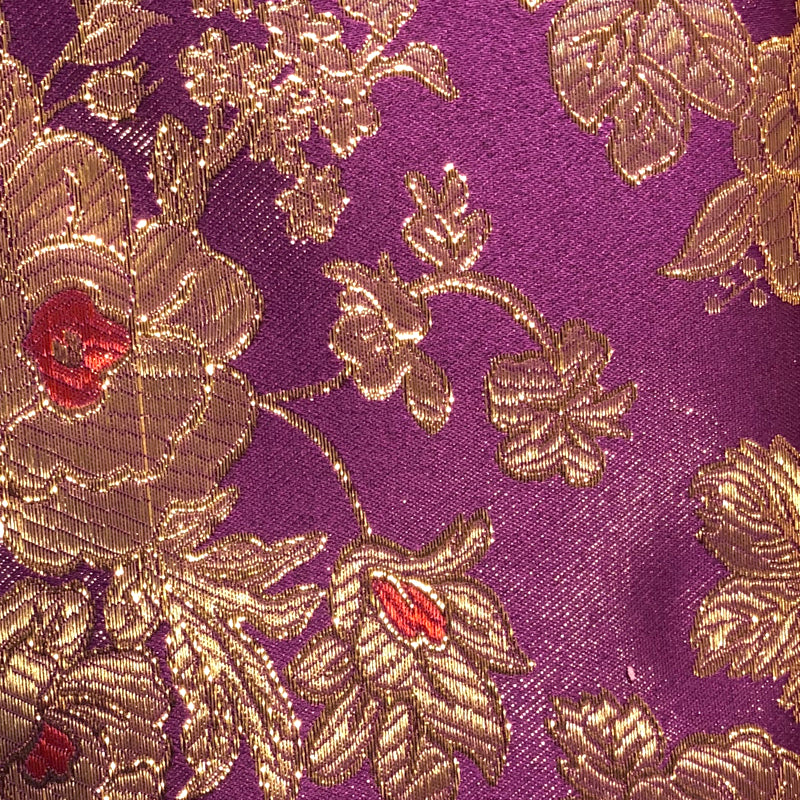 Purple - Metallic Brocade