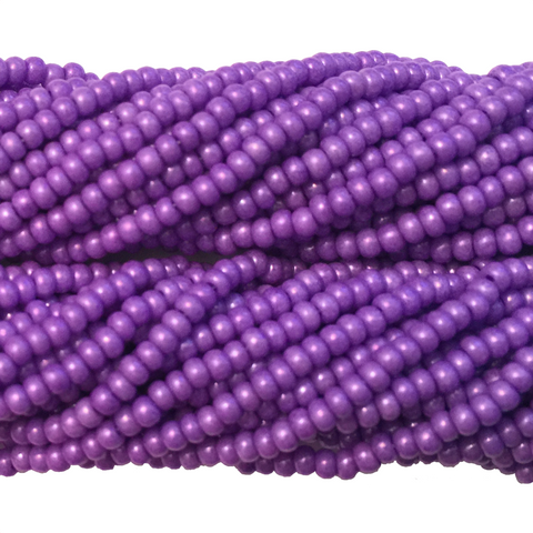 Purple Opaque - Size 10 Seed Beads