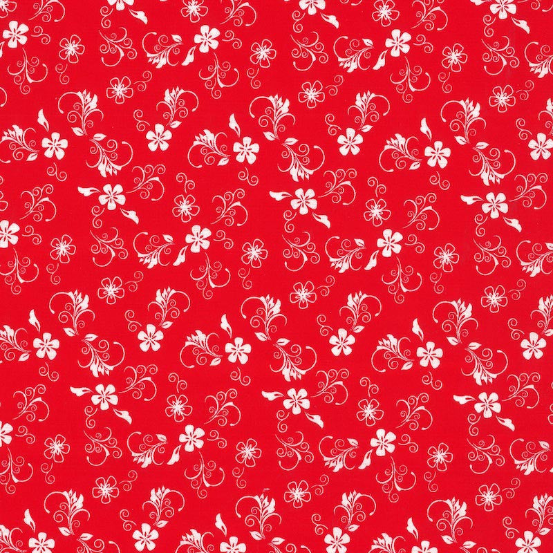 Red #2 - Cotton Calico