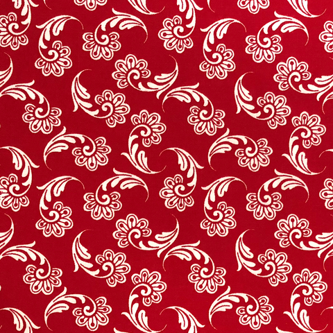 Red #5 - Cotton Calico