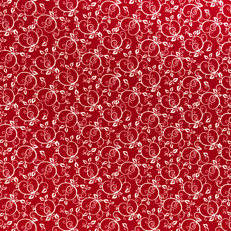 Red #6 - Cotton Calico