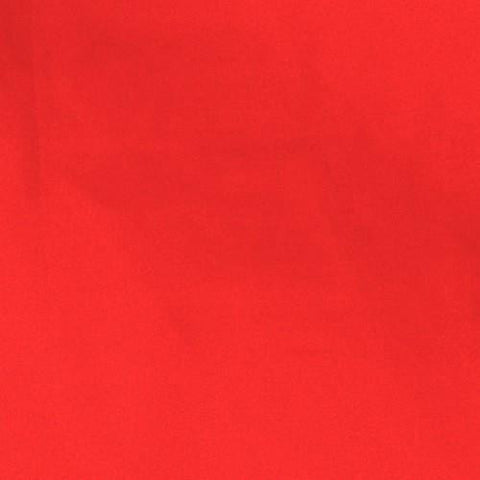 Red - Cotton/Polyester Broadcloth