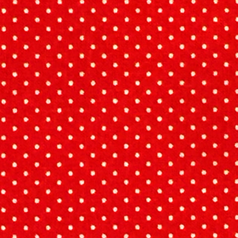 Red - Cotton Pin Dot