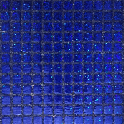 Royal Blue - Sparkle Hologram Square