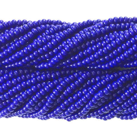 Royal Blue Opaque - Size 10 Seed Beads