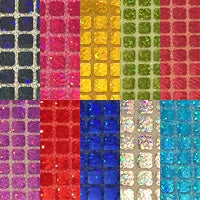 Sparkle Hologram Square - Fabric Packs