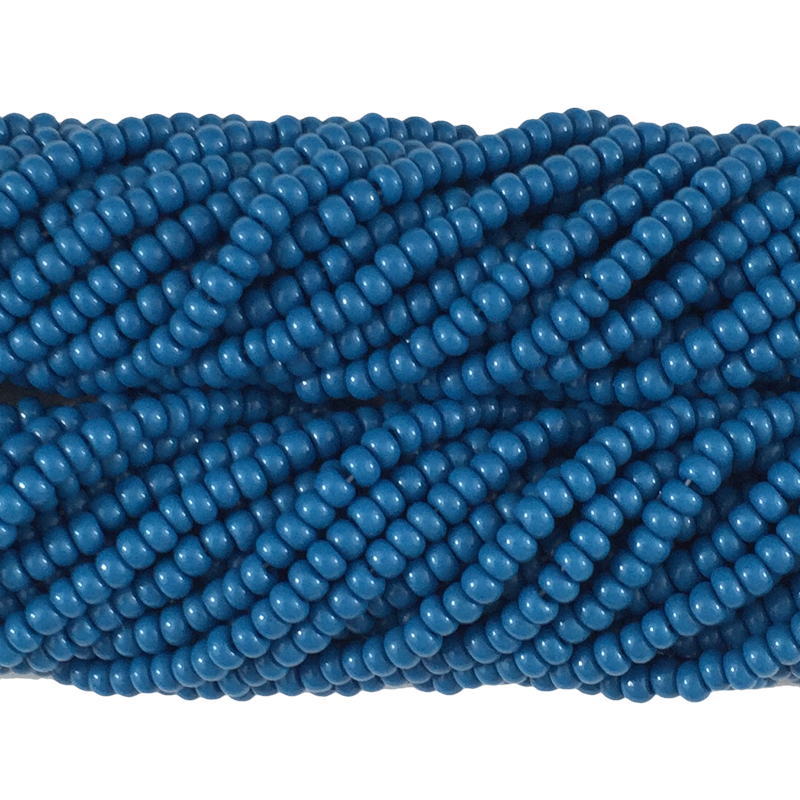 Dark Teal Blue Opaque - Size 10 Seed Beads