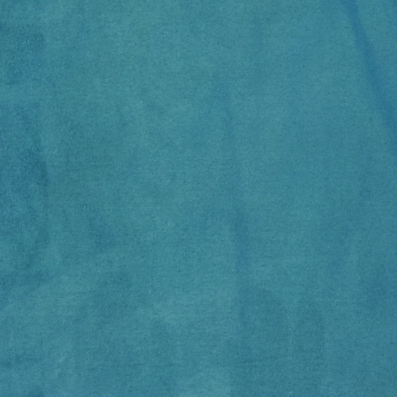 Turquoise - Suede Cloth