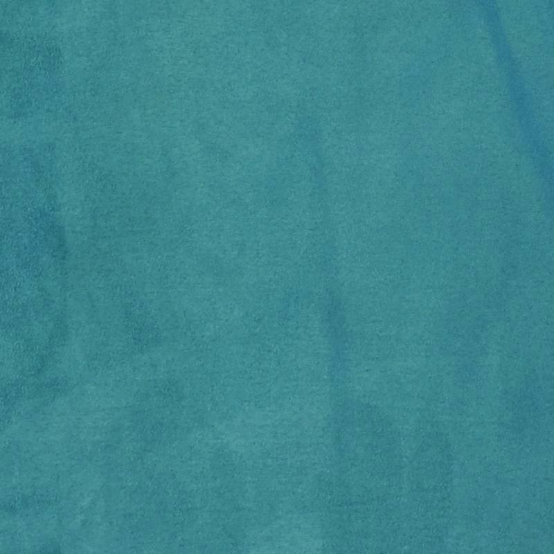 Turquoise Green - Suede Cloth