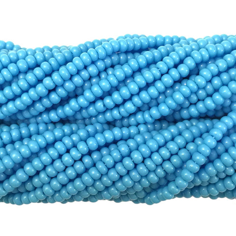 Turquoise Blue Opaque - Size 10 Seed Beads