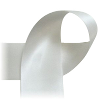 "White - 7/8"" Ribbon"