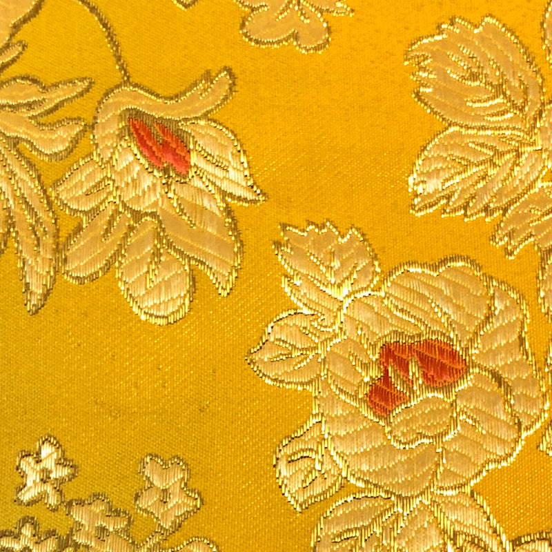 Yellow - Metallic Brocade