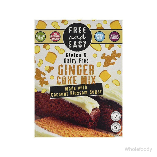 Cake Mix Free&easy Gluten/dairy Free Ginger 350G Flour