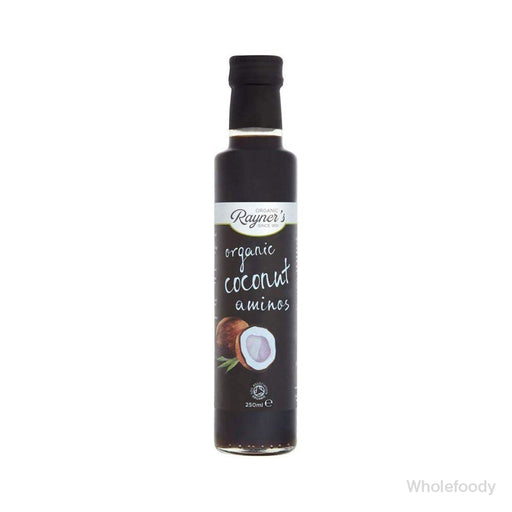 Coconut Aminos Rayners Organic 250Ml Sauces/seasonings