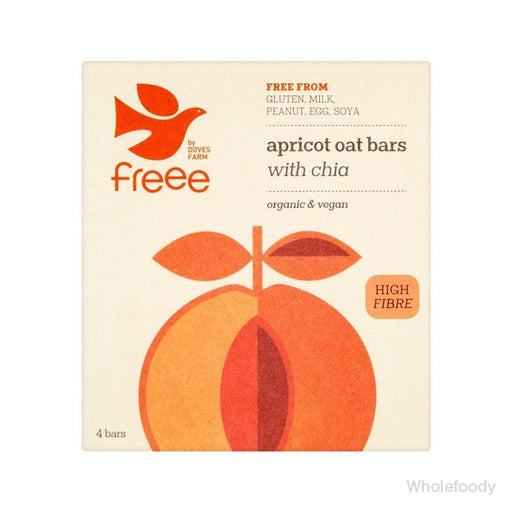 Flapjack Doves Freee Apricot/chia Organic 35G Bars