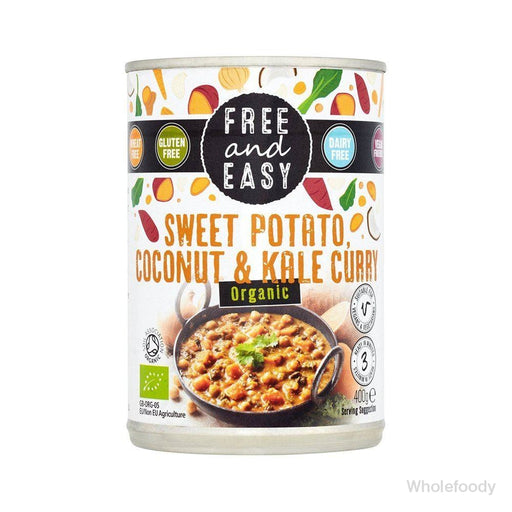 Meal Free&easy Sweet Potato/coconut/kale Curry Organic 400G Tinned Food