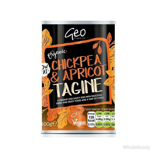 Meal Geo Tinned Chickpea/apricot Tagine Organic 400G Food