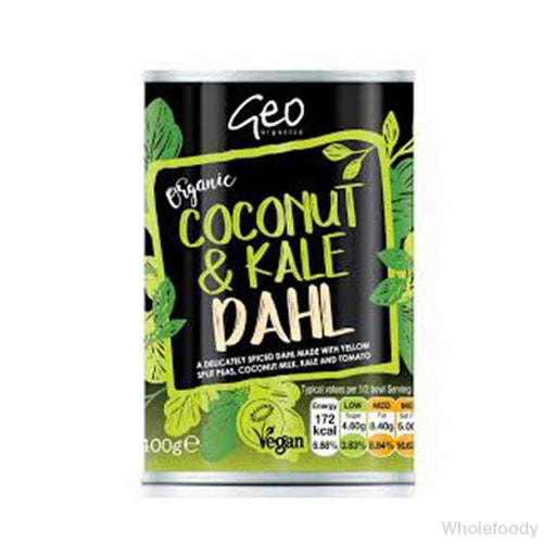 Meal Geo Tinned Coconut/kale Dahl Organic 400G Food