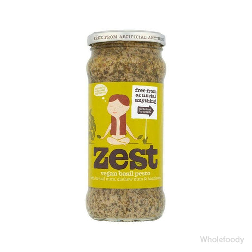 Pesto Zest Vegan 165G Sauces/seasonings