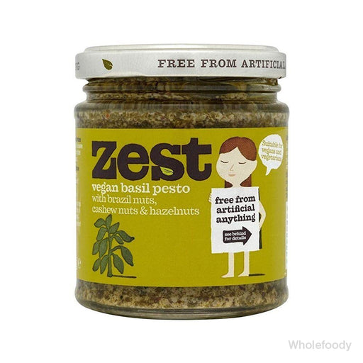 Pesto Zest Vegan 340G Sauces/seasonings