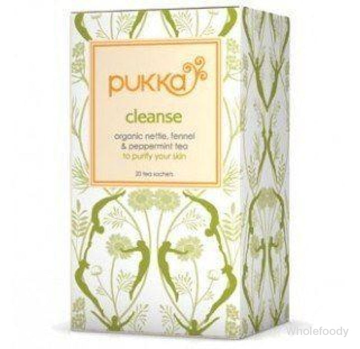 Pukka Tea Cleanse Nettle/peppermint/aloe Vera Organic 20Bags Beverages