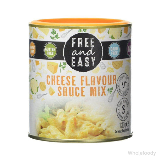 Sauce Mix Free&easy Cheeze Dairy Free 130G Sauces/seasonings