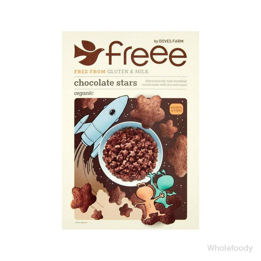 Stars Chocolate Doves Organic 300G Cereals Branded