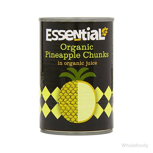 Tinned Pineapple Essential Chunks In Juice Organic 400G Food