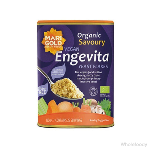 Yeast Flakes Engevita Organic 125G Sauces/seasonings