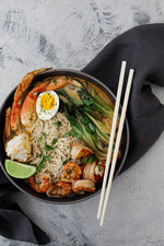 Coconut Curry Seafood Ramen
